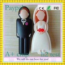 nice wedding gift bride and groom usb flash drive