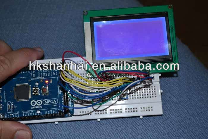 LCD12864 128X64 Graphic Matrix Display LCM for Arduino