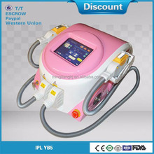 Company Super Star Product freckle removal and black age spot removal IPL YB5