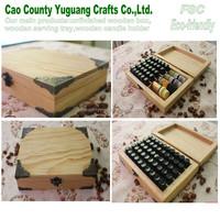 wooden gift essential oil box,wooden display box,essential oil storage box