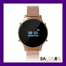 Top End Classic Round Bluetooth Smart Bracelet Watch for Android Phone