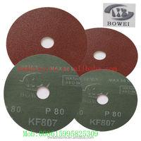 high wearing resistant aluminium oxide fiber disc