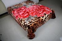 2 ply korean polyester blanket for warm