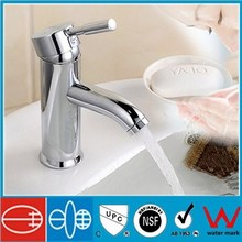 Hot selling fashionable cylinder basin faucet,brass faucet for basin , faucet basin mixer