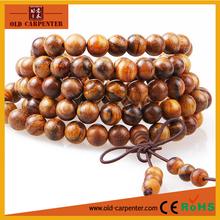 Fashion African sandalwood wood bead bracelet for men women unisex
