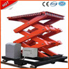 Heavy Duty Stationary Scissor Lift Table/Electric Hydraulic Scissor Lift