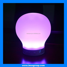 New Arrival Romantic Lighting Bluetooth Speaker with APP control, select the color you like with pat the clamp