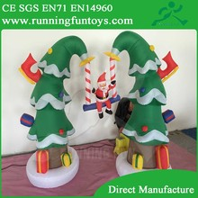 Alibaba China Accept Custom Inflatable Christmas Decorations Tree Wholesale ICL-0190
