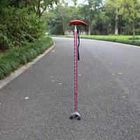 TOP 5-section Adjustable Folding Wooden handle Elderly Walking Stick