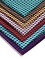 Sofá de la tela, cuadrado de impresión, textiles para el hogar