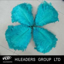 venta al por mayor lo649 blanqueado y teñido de plumas de avestruz para disfraces de carnaval