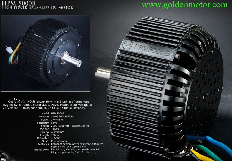 3kw 5kw 10kw 20kw bldc motor for electric vehicle