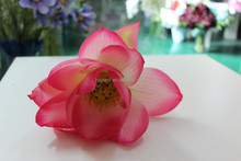 making artificial water lily flower ,fake lotus imported from china