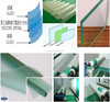 China manufacturer Competitive price Green on Clear PVB film with ISO