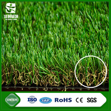 China wuxi manufacturer w shape 35mm 4 colors artificial grass mat fake for garden roof decoration