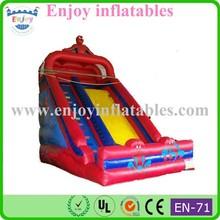 2015 Enjoy spiderman inflatable slide, Hot Sale kids Spiderman Slide, inflatable slide in inflatable slide
