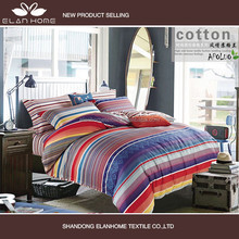2014 wholesale cheap multi colour thread bedsheet and bedspread