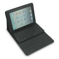 muti-angle stand folio cover case with slim magnetically detachable bluetooth 9.7 tablet keyboard case