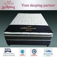 Comfirtable hot sell spring units memory foam mattress