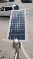 green 15W led automotive lighting sensor solar garden light