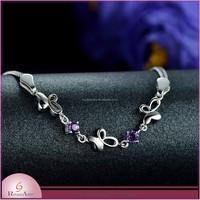 2015 New Products 925 Silver Zircon bracelet jewelry
