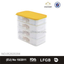 4 layers crisper microwave safe 2 L big volume