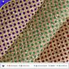 Colorful dot cork grain pu leather