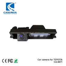 waterproof 170 degree car backup camera with guidelines switcher for TOYOTA Rav4 III, Auris II