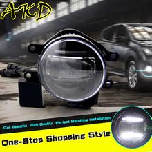 AKD Car Styling LED Fog Lamp for Toyota INNOVA DRL 2009-2014 INNOVA Daytime Running Light Fog Light Accessories