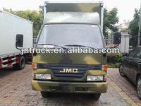 manufacture 10T van cargo truck sales