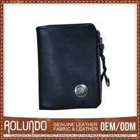 Customized Design Custom Logo Leather Wallet Pocket