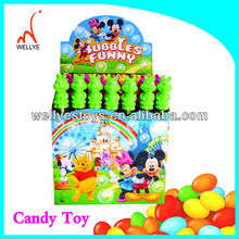 Very popular soap bubbles toy candy