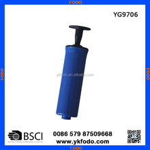 Plastic durable hand operated air ball pump, mini air ball(YG9706)