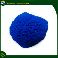 Chemical inorganic iron oxide blue pigment wood mulch for rubber and plastic mulch colorant