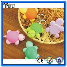 Hot selling Cute Turtle Keychain Led Flashlight Wholesale for promotional gift