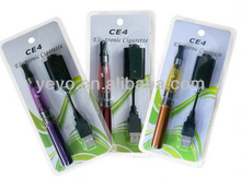 2014 hot selling electronic cigarette ego ce4 kit in blister packing from China