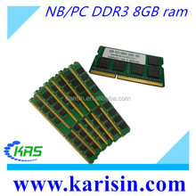 New and best computer parts desktop/laptop ram 8gb ddr3 memory in good condition