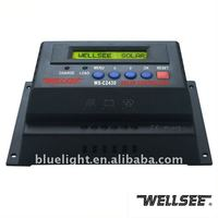 24v solar controller WS-C2430 30A charging regulation smart controles brand WELLSEE