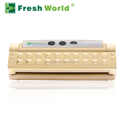 Fresh World 110W table food saver vacuum sealer -CONTAINER AND WINE STOPPER VACUUM
