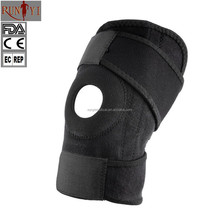 New Neoprene Black Elastic Knee Brace Taekwond Knee Protector Gym Sport Guard
