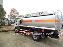 3000 litros mini dongfeng camión cisterna de combustible, peru aceite de camiones para la venta