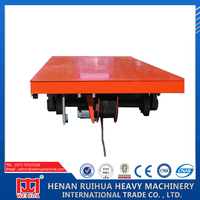 Good performance beautiful apperance industrial rail flat car