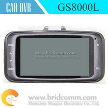 video camera DVR GS8000L 1920*1080P 140 degrees wide Angle 2.7inch LCD G-Sensor HDMI