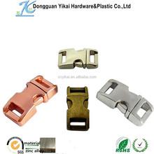 Yikai wholesale Metal bag buckles for handbag, bags metal buckles