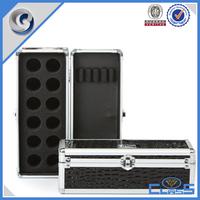 cusotmed fancy zebra style aluminum box pen case coin case