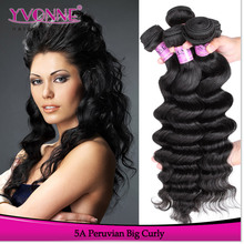 Yvonne alibaba express big curly 100 human hair extension wholesale