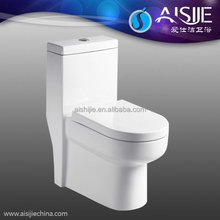 A3104 Bathroom Siphonic Types of Toilet Bowl One Piece Toilet