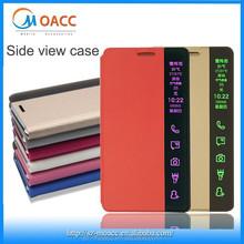 Unique Smart view on edge leather case for Samsung Galaxy s6 edge plus,for Samsung Galaxy s6 edge plus case