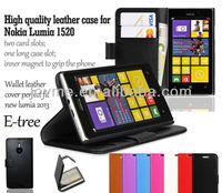 new wallet leather flip case cover for nokia lumia 1520 bendit