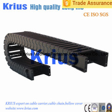 Supports Trade Assurance cable wire carrier drag chain